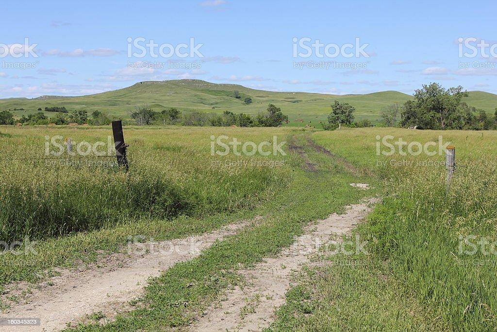 Nebraska landscape royalty-free stock photo