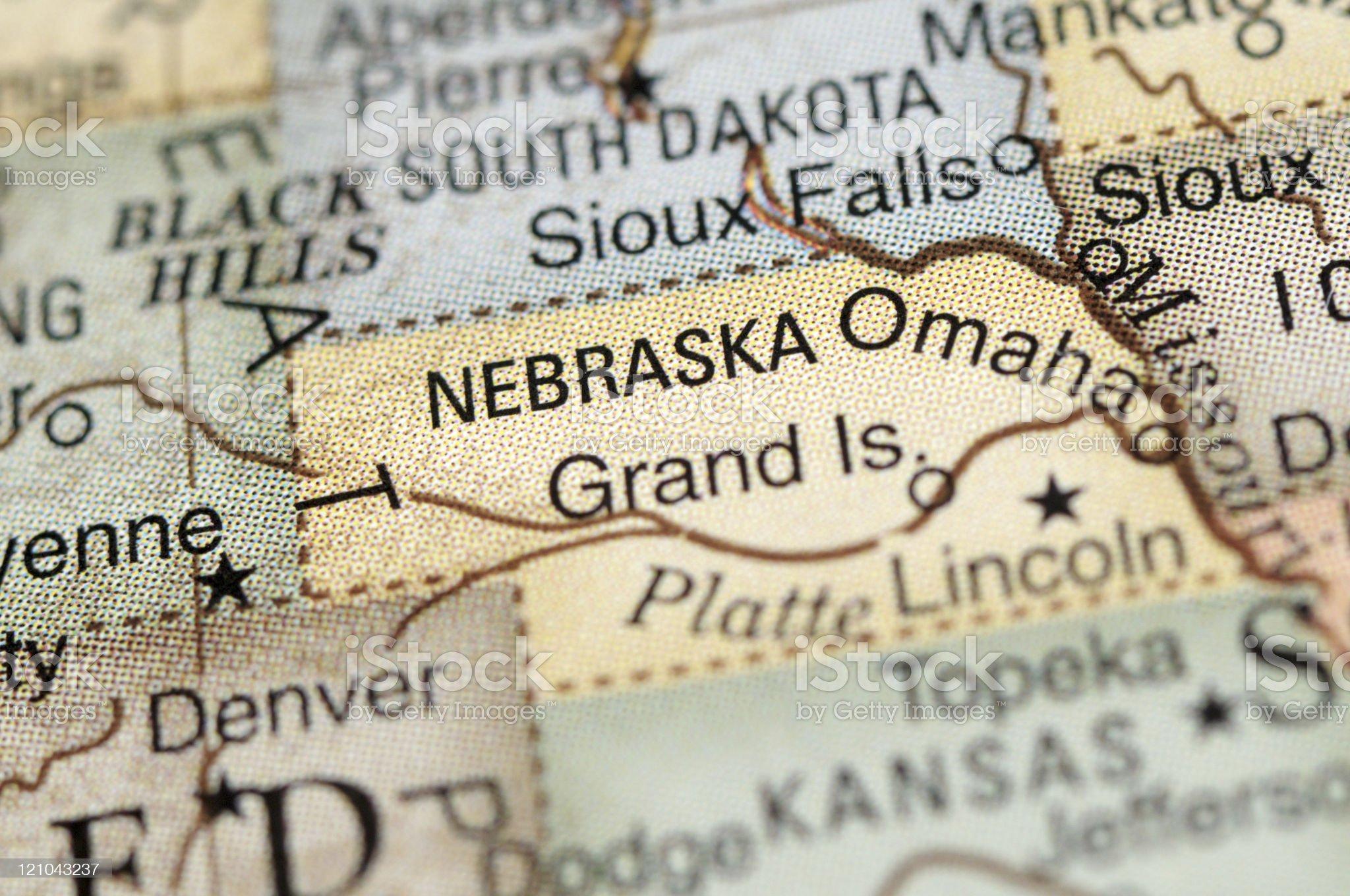 Nebraska royalty-free stock photo