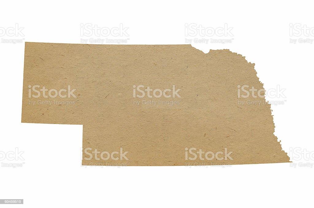 Nebraska Recycles royalty-free stock photo