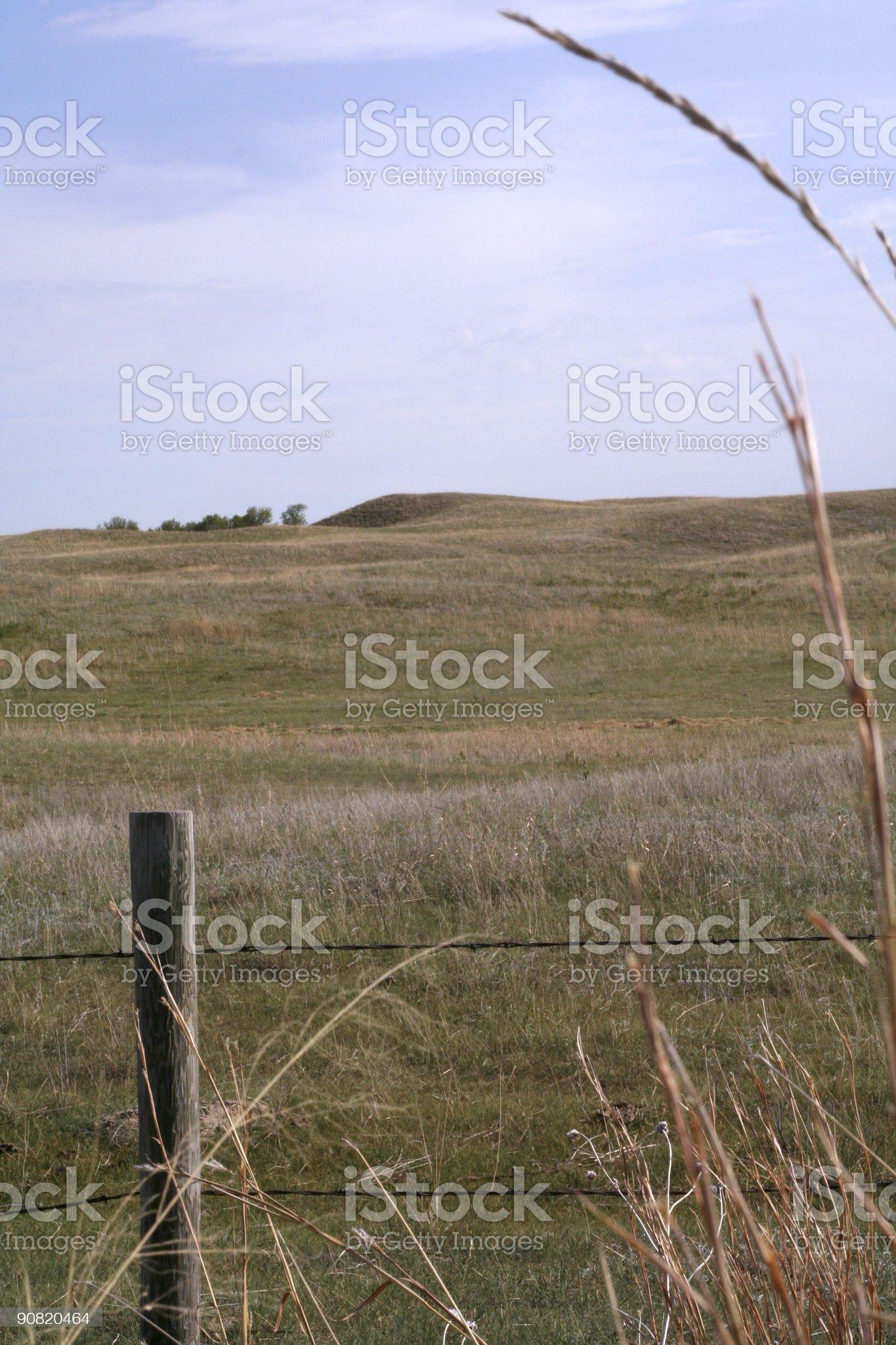 Nebraska Sandhills royalty-free stock photo