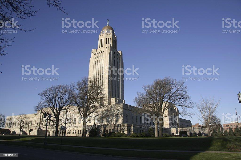 Nebraska State Capital royalty-free stock photo