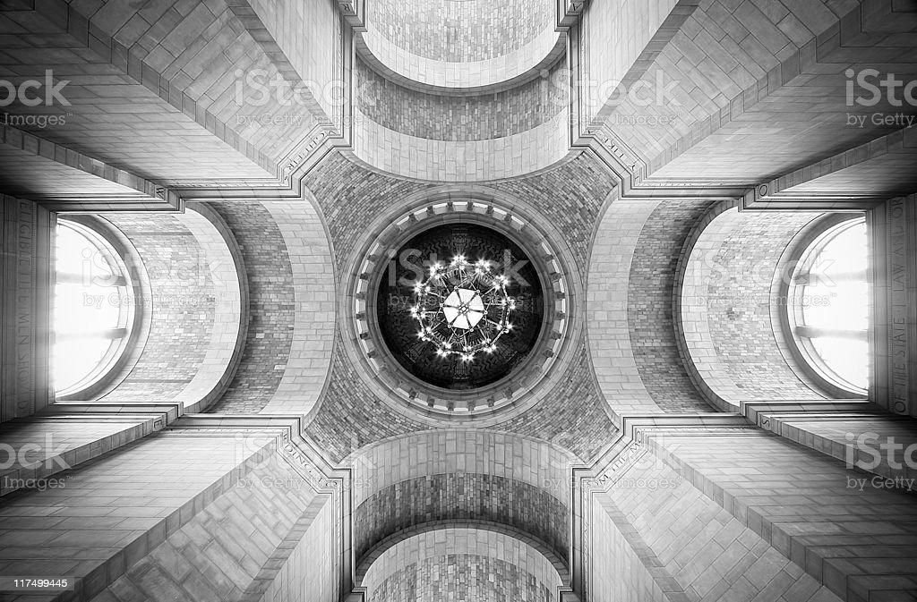 Nebraska State Capitol royalty-free stock photo