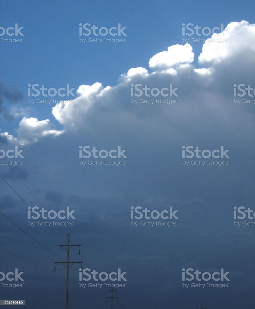 Nebraska Storm stock photo