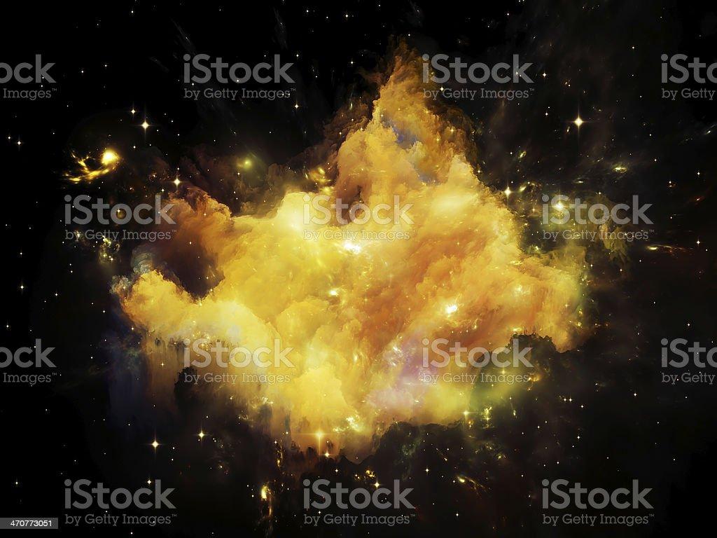 Nebula Background royalty-free stock photo
