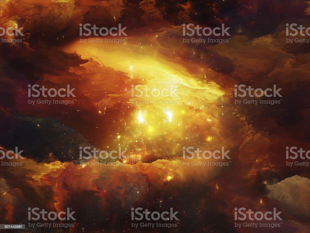 Nebula Elegance royalty-free stock photo