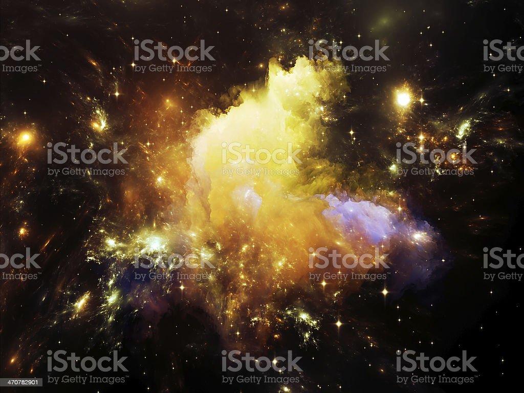 Nebula Lights royalty-free stock photo