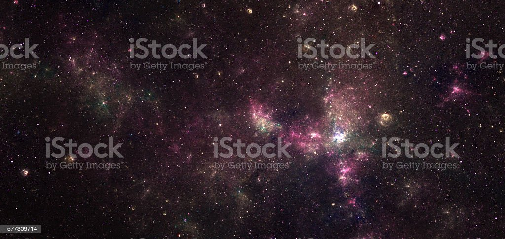 Nebula stock photo
