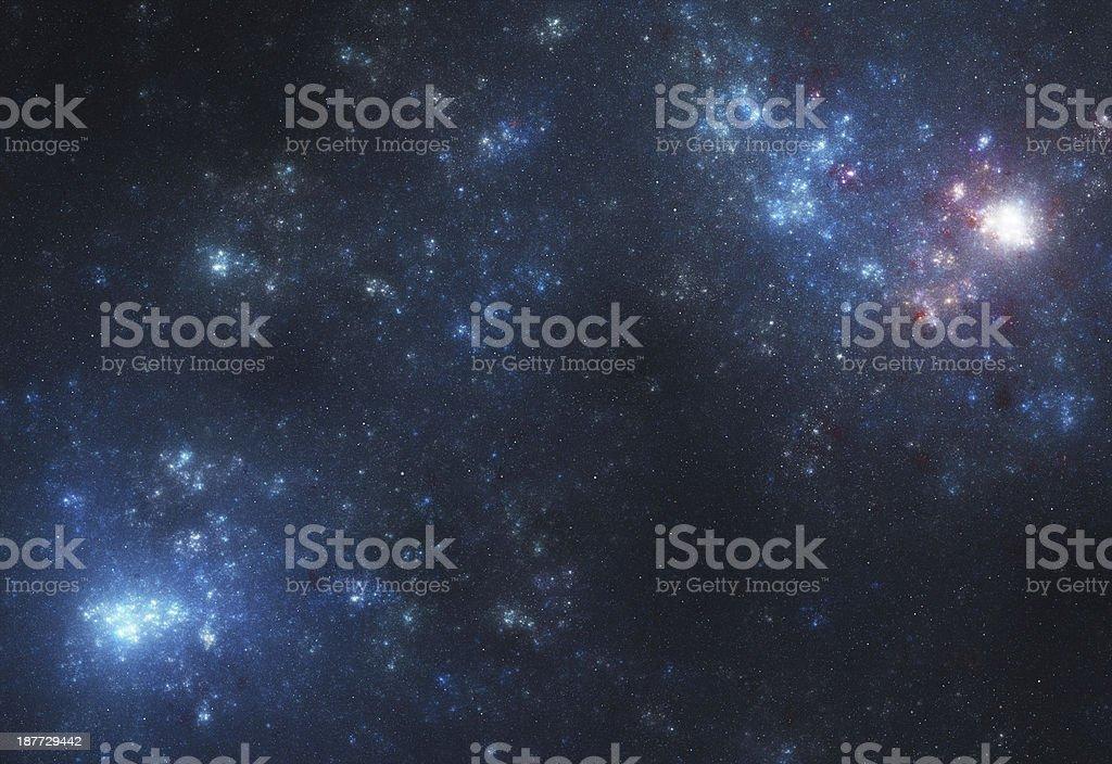Nebulae in Space stock photo