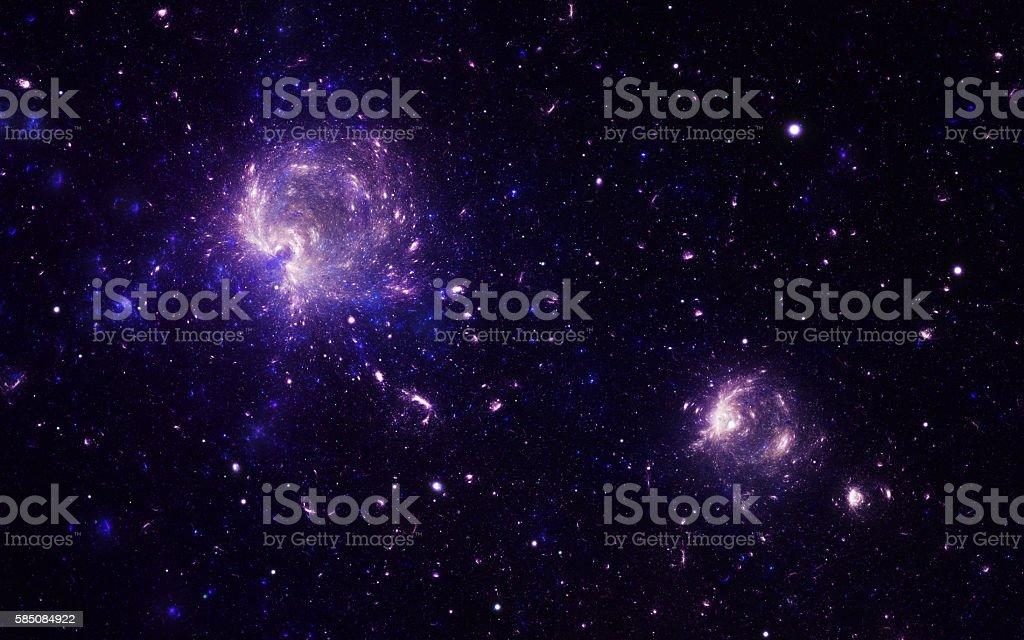 Nebulas stock photo