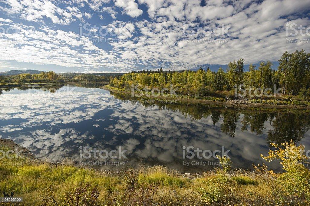 Nechako River royalty-free stock photo
