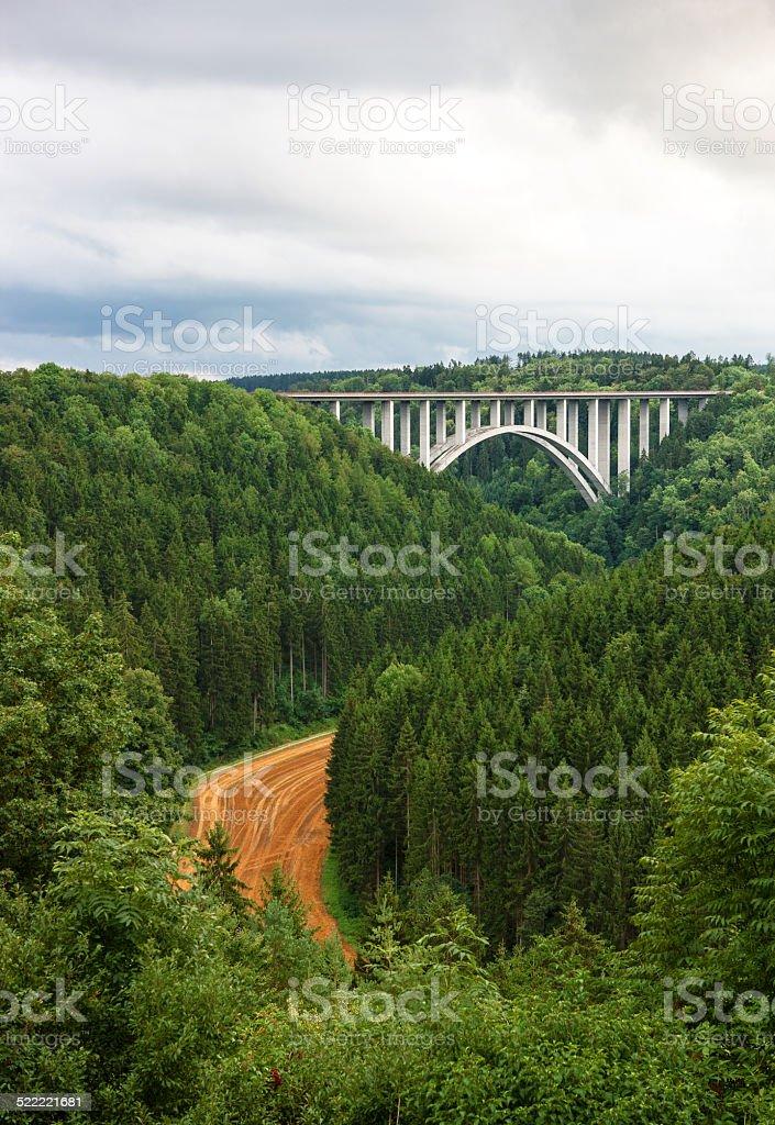 Neckarburg bridge royalty-free stock photo