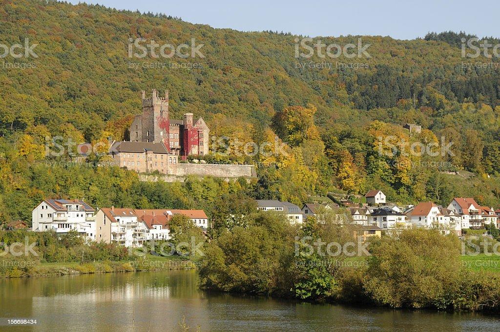 Neckarsteinach, Germany royalty-free stock photo
