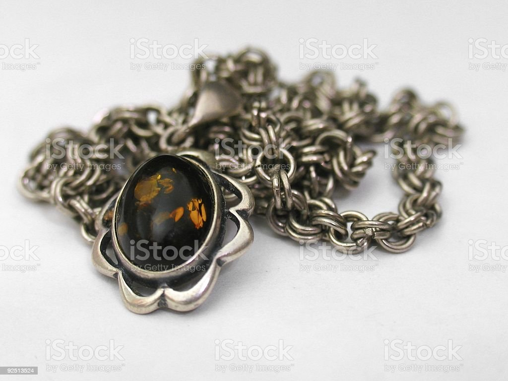 Necklace - Isolated 1 stock photo