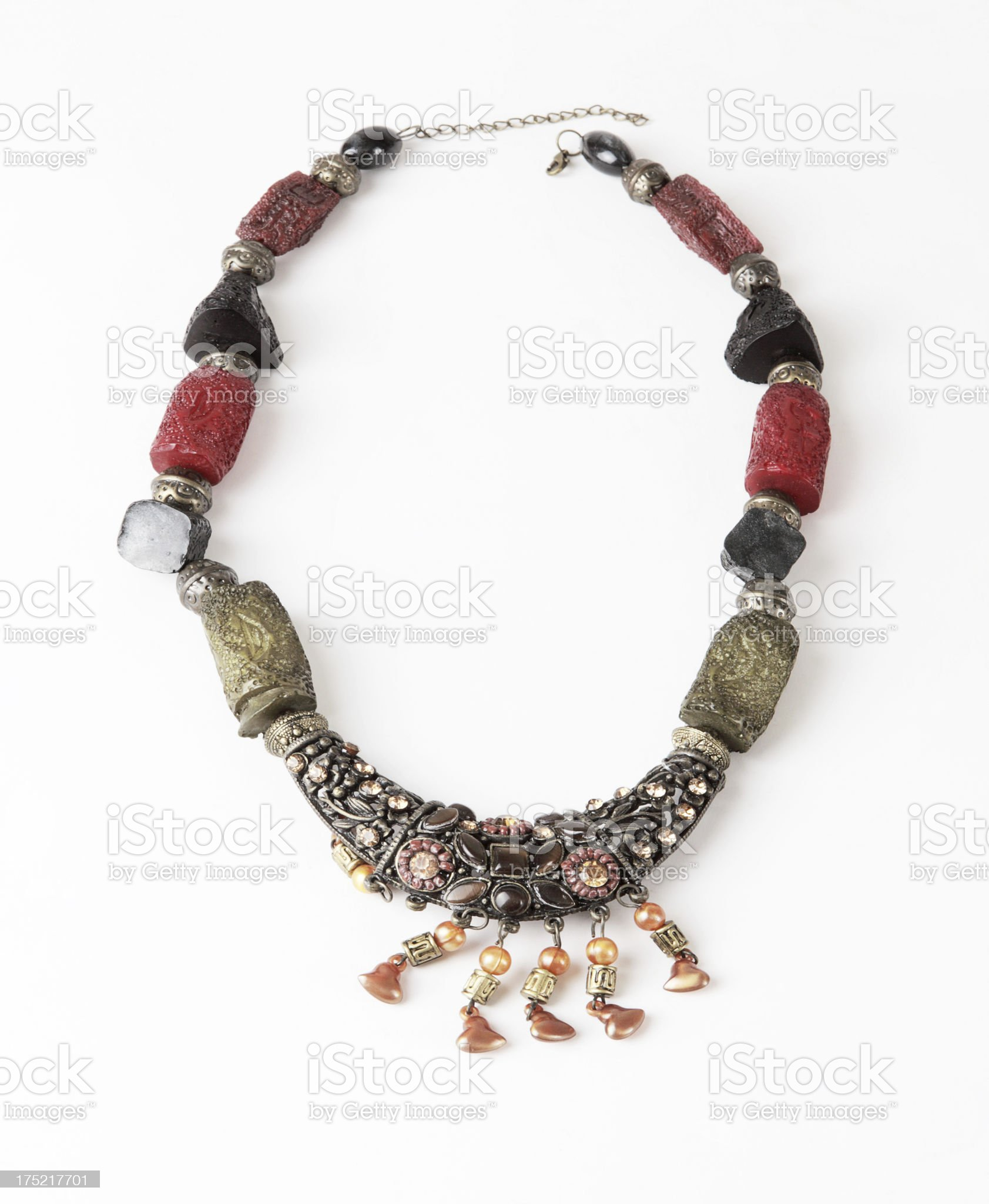 Necklace (Click for more) royalty-free stock photo