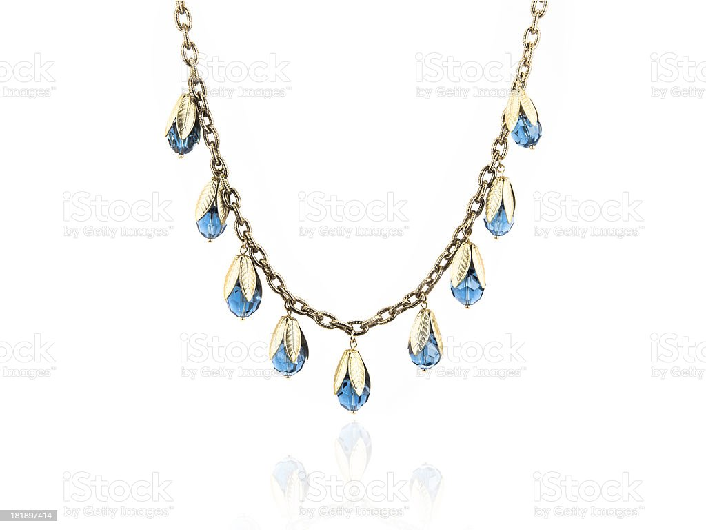 Necklace royalty-free stock photo