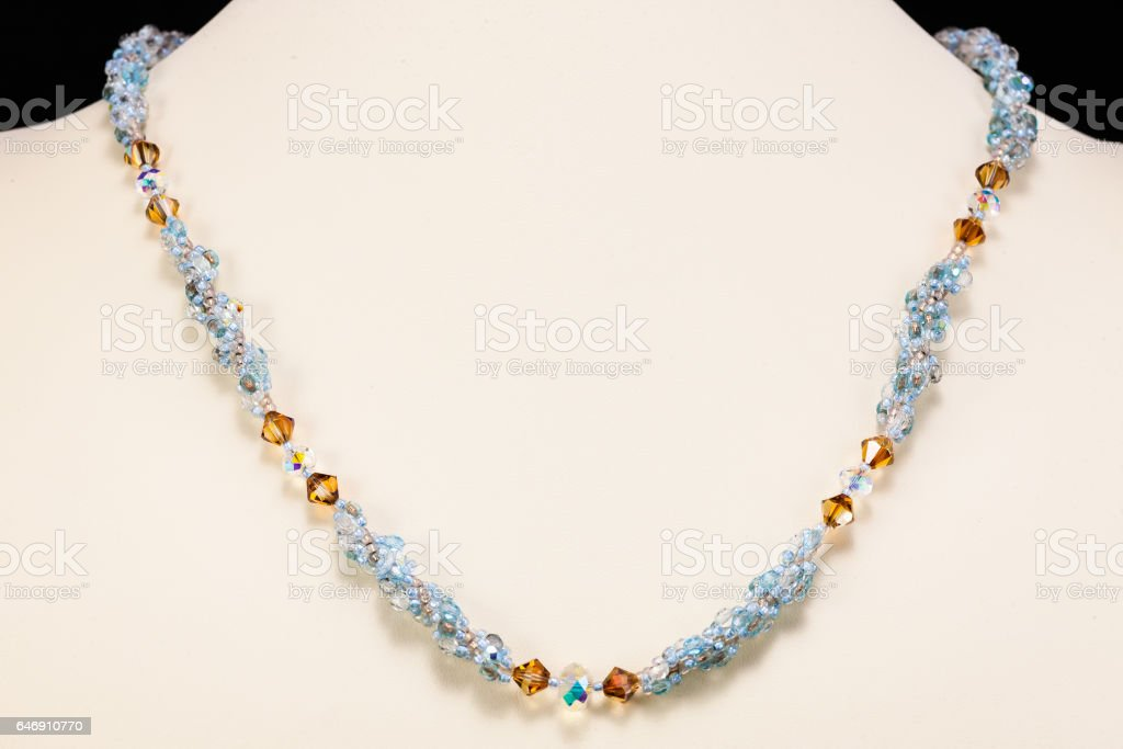 necklace stock photo