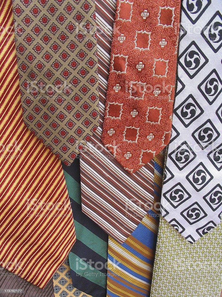 Necktie Selection 2 royalty-free stock photo