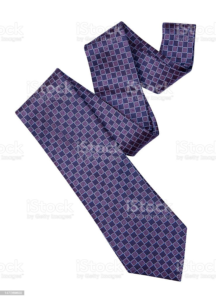 Necktie with Clipping Path stock photo