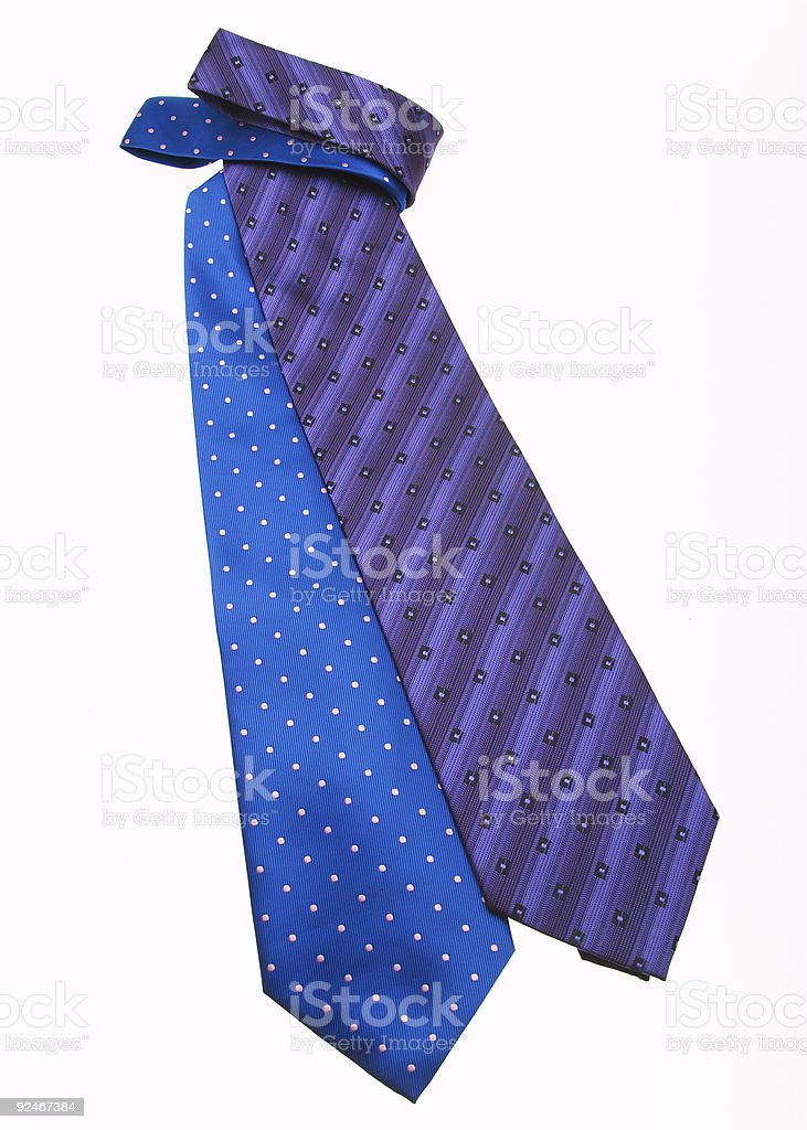 neckties 1 royalty-free stock photo