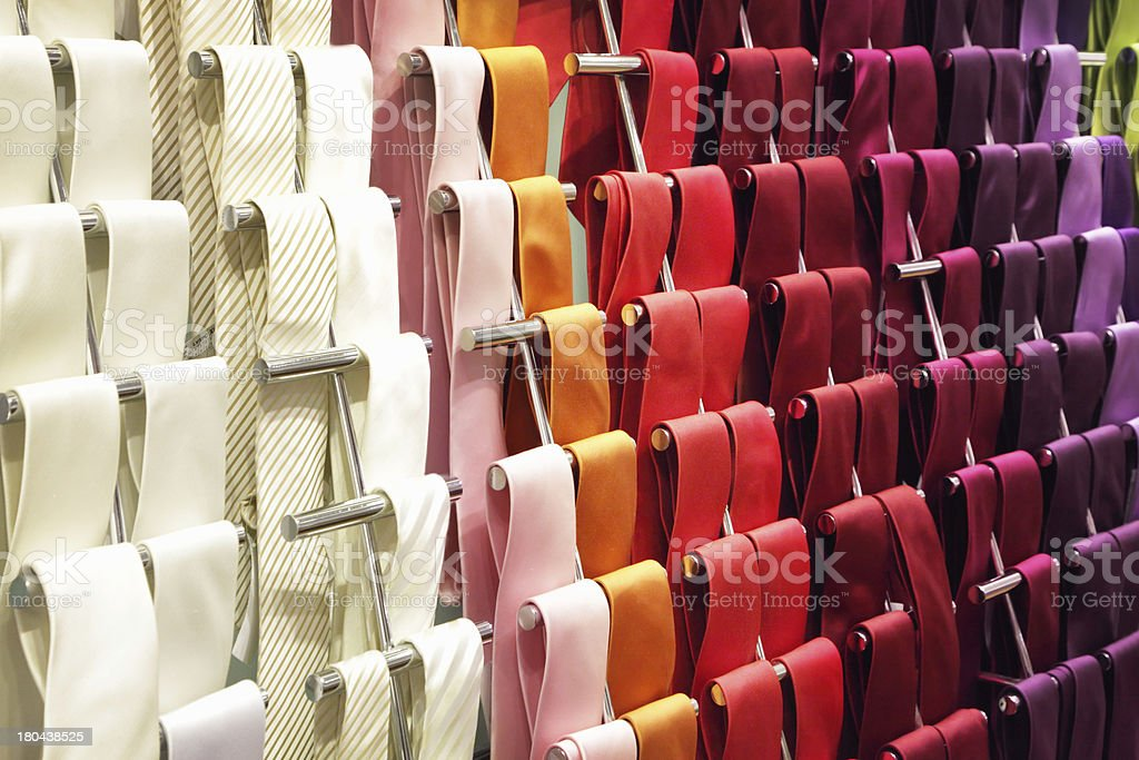 Neckties royalty-free stock photo
