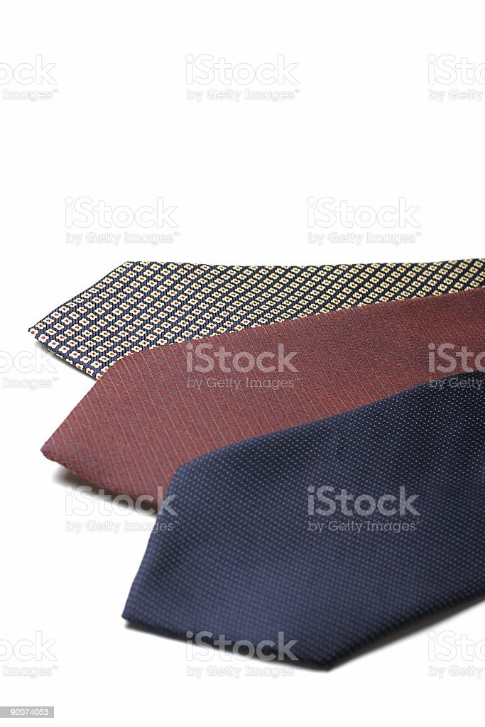Neckties stock photo