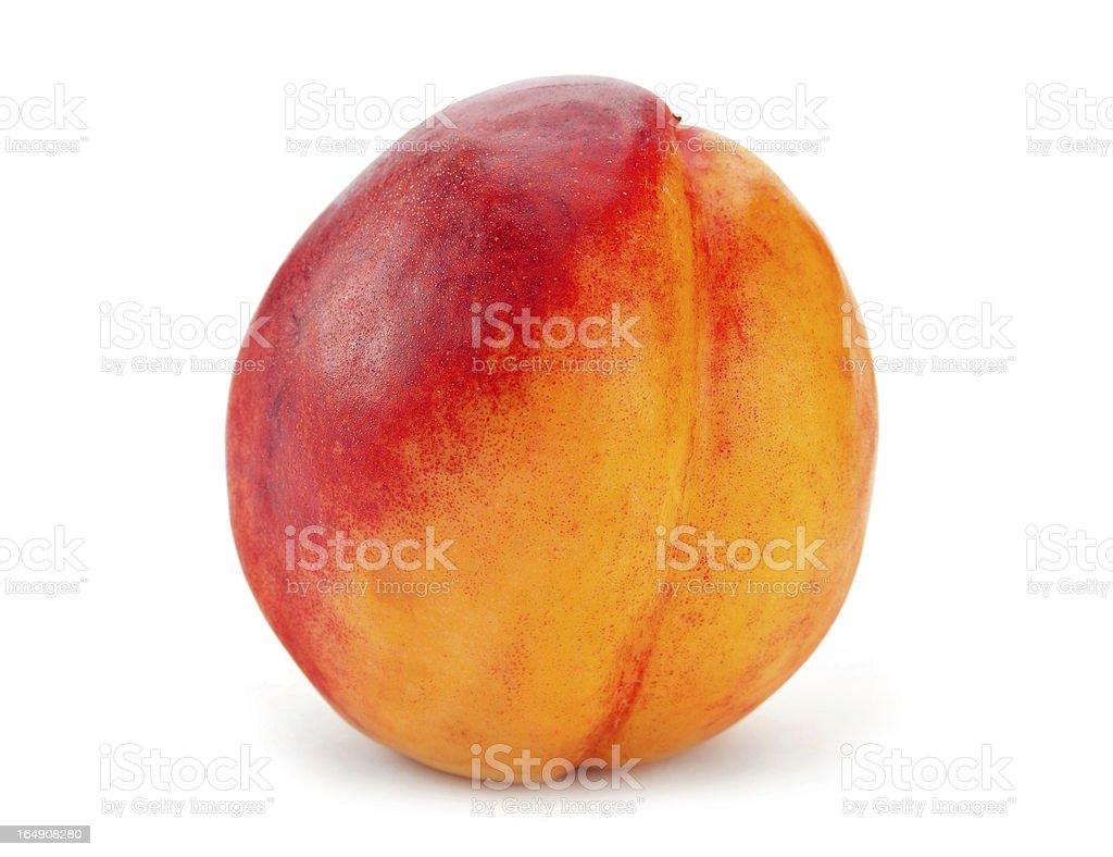 Nectarine fruit royalty-free stock photo