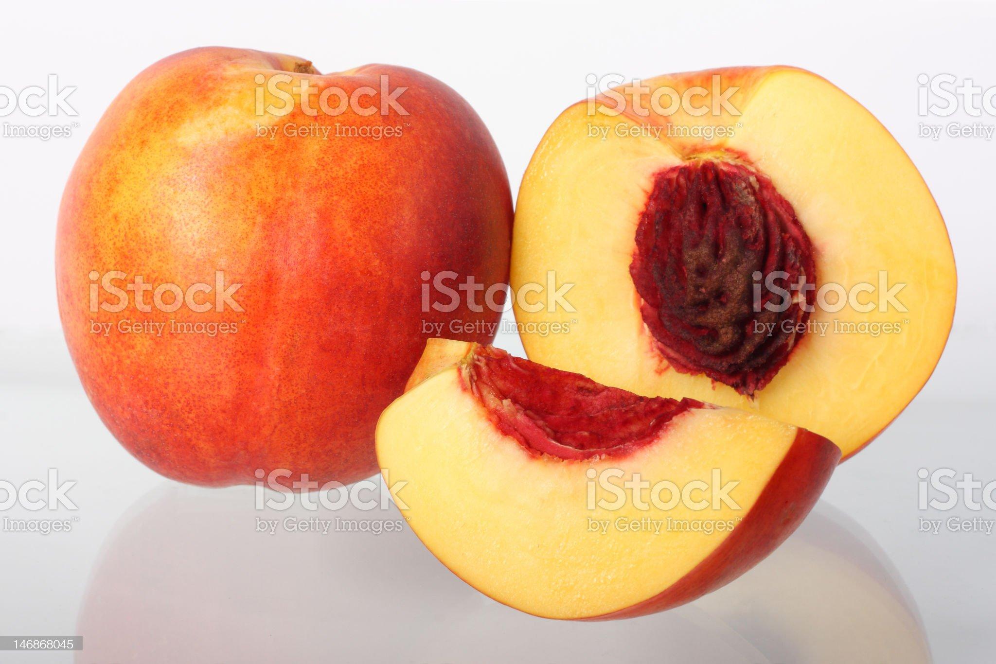 Nectarine fruits royalty-free stock photo