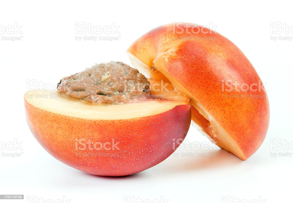 Nectarine royalty-free stock photo