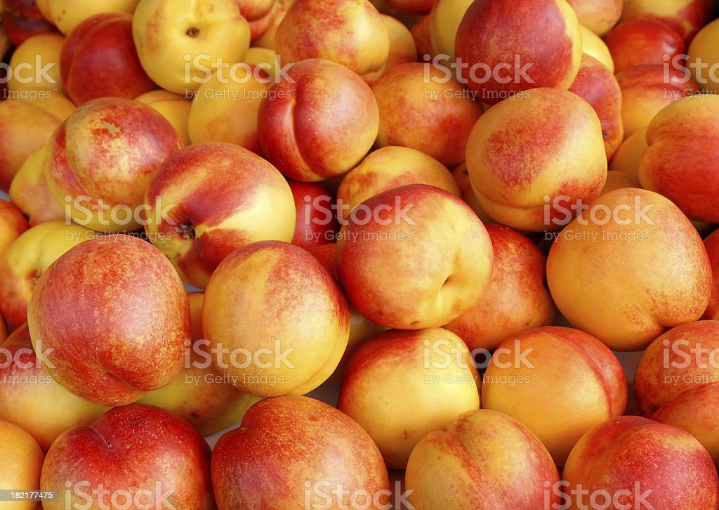 nectarine stock photo