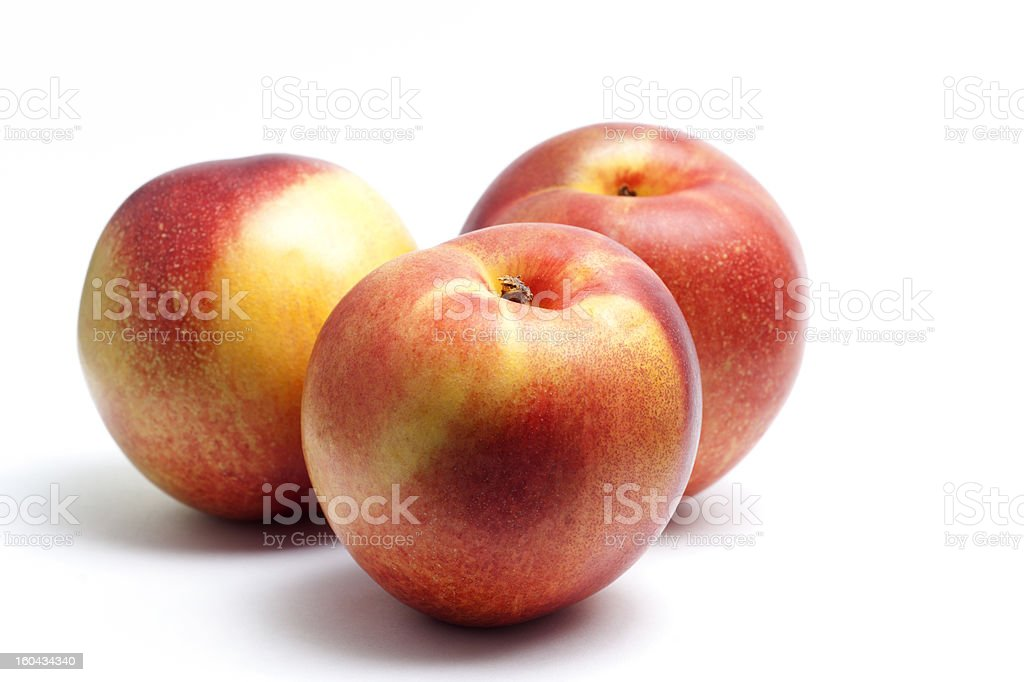 Nectarines royalty-free stock photo