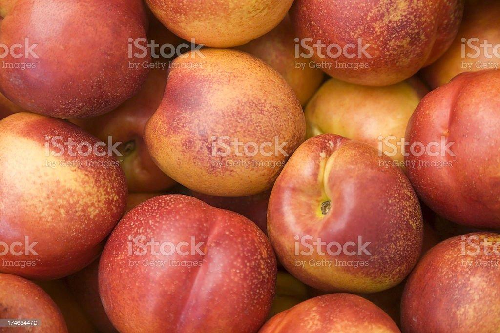 Nectarines royalty-free stock photo