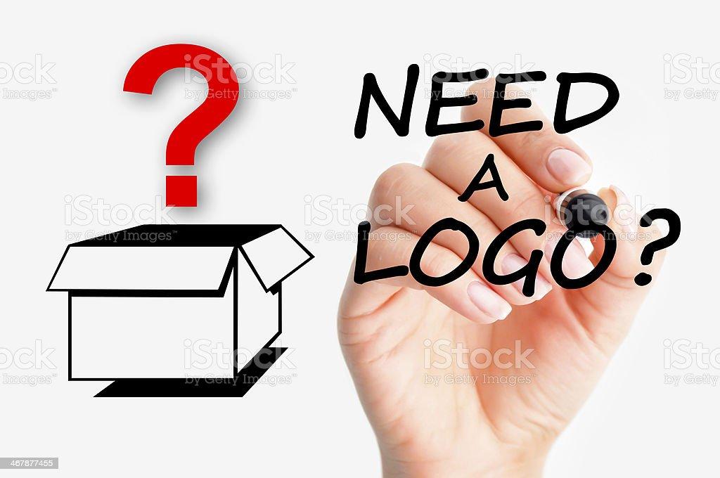 Need a logo concept stock photo