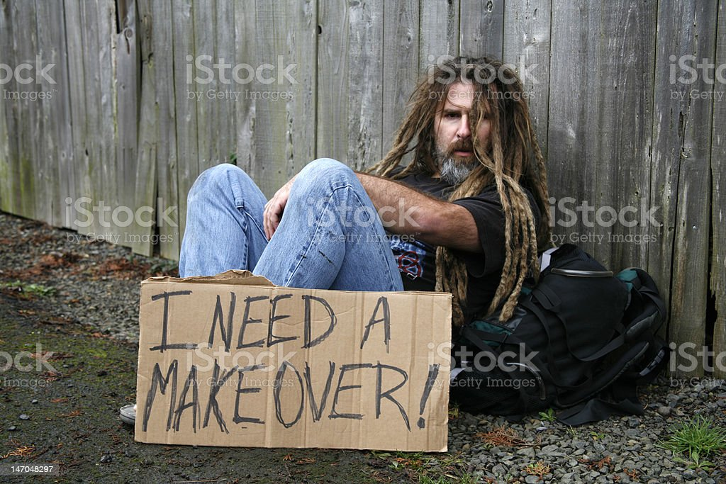 I Need a Makeover royalty-free stock photo