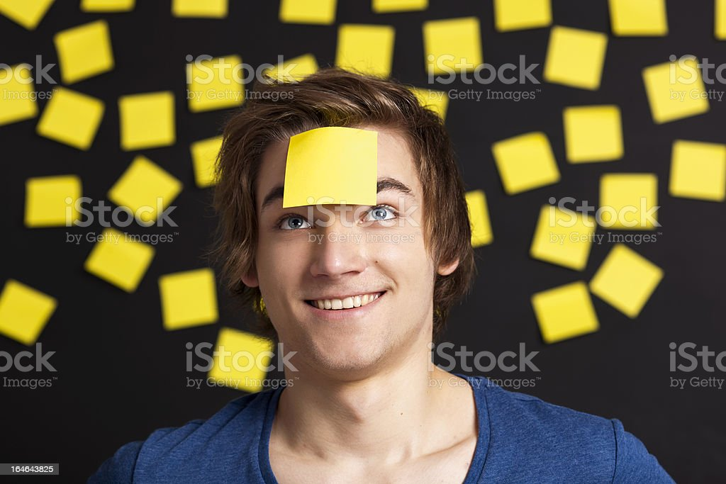Need a reminder royalty-free stock photo