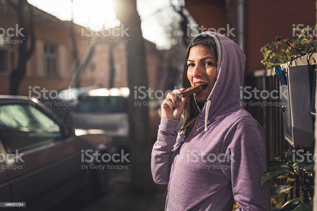 I need energy! stock photo