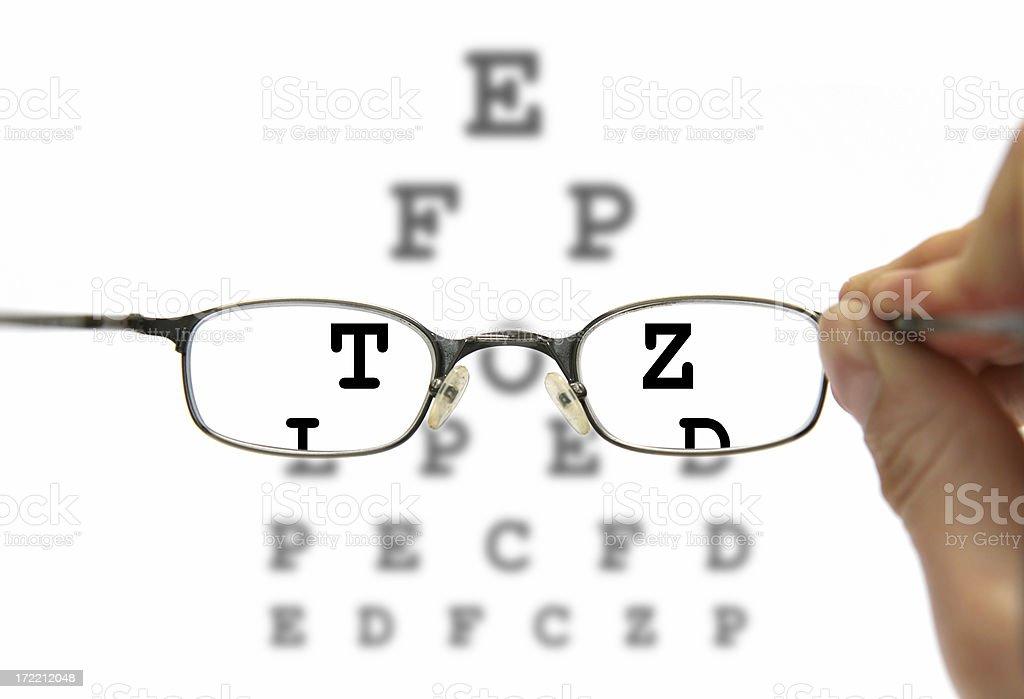 Need eyeglasses? royalty-free stock photo