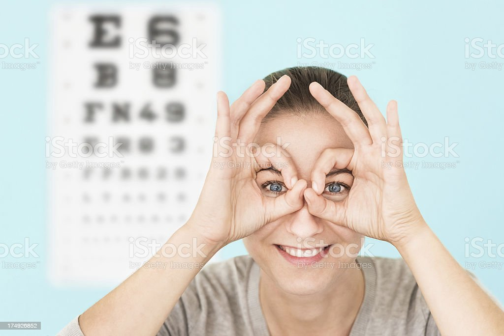 Need Glasses royalty-free stock photo