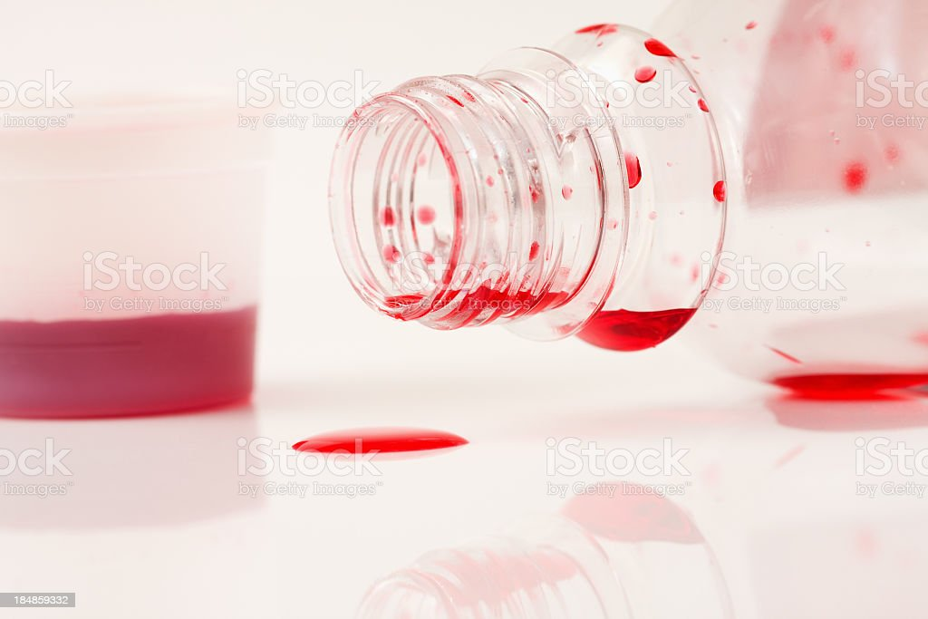 Need More Cough Medicine royalty-free stock photo