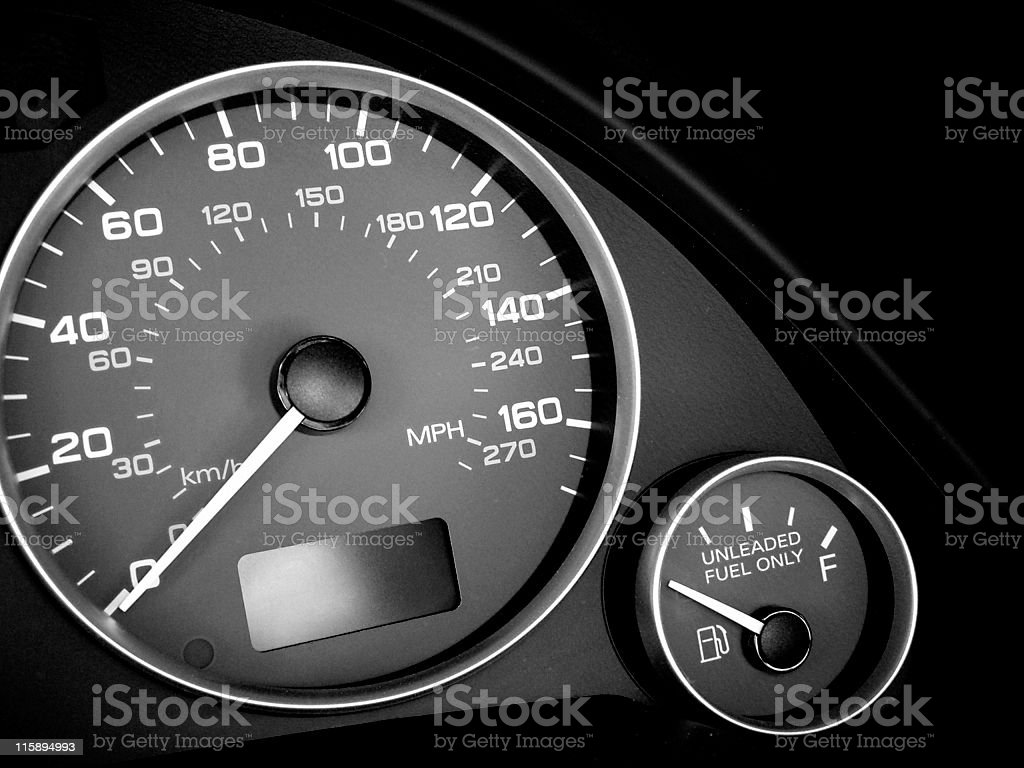need more gas royalty-free stock photo