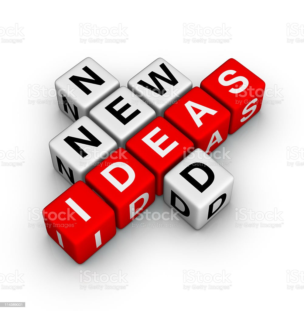 need new ideas royalty-free stock photo
