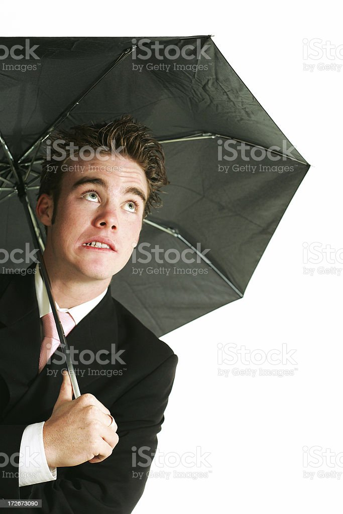 Need of Cover? stock photo