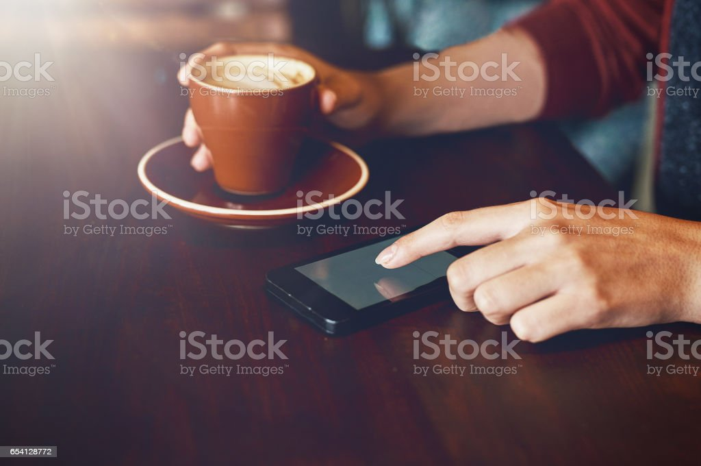I need some company with this coffee stock photo