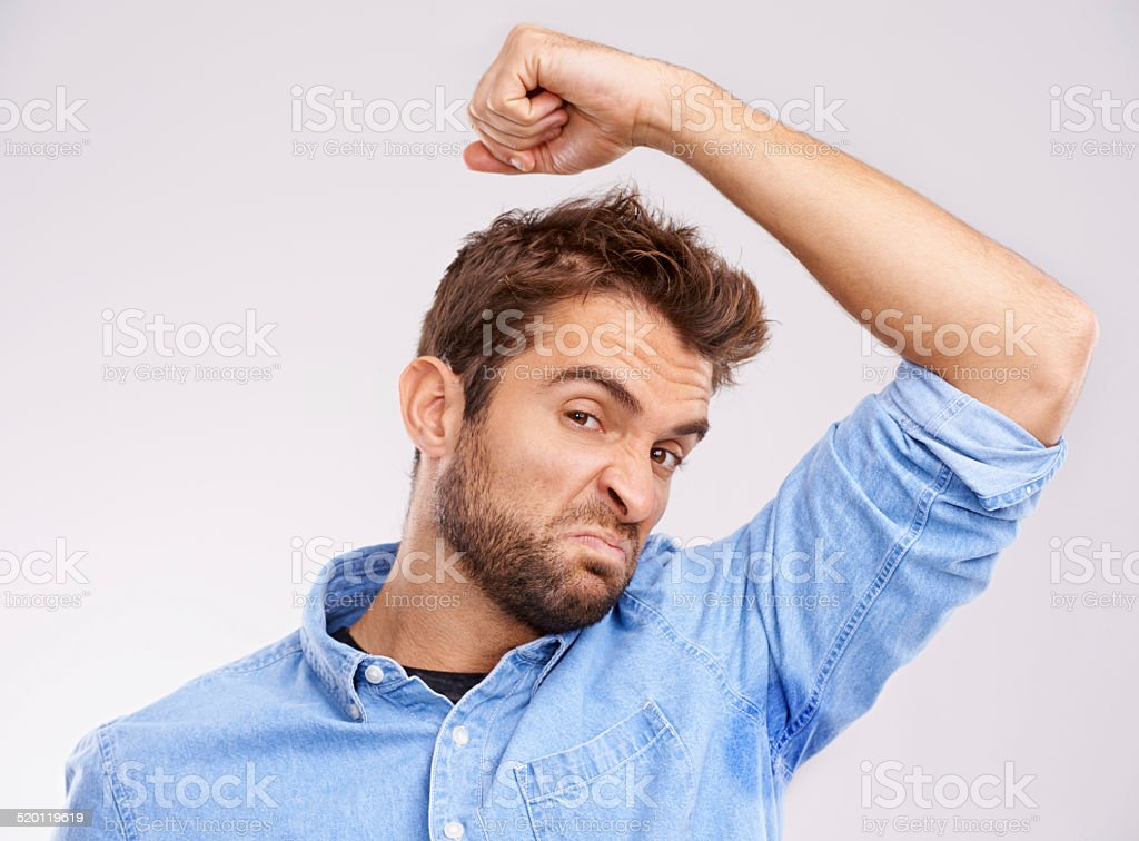 I need some deodorant stock photo