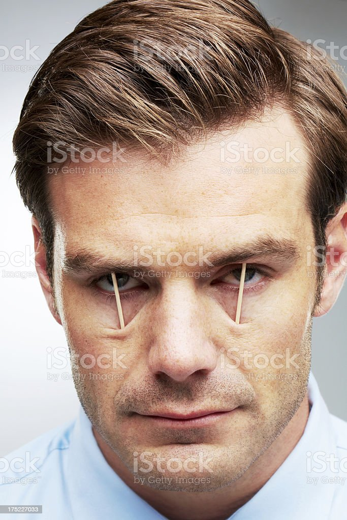I need the overtime! royalty-free stock photo