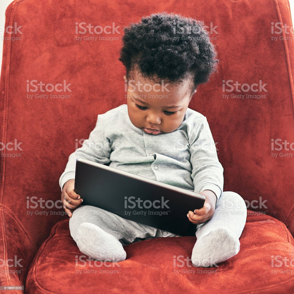 I need to check my emails... stock photo
