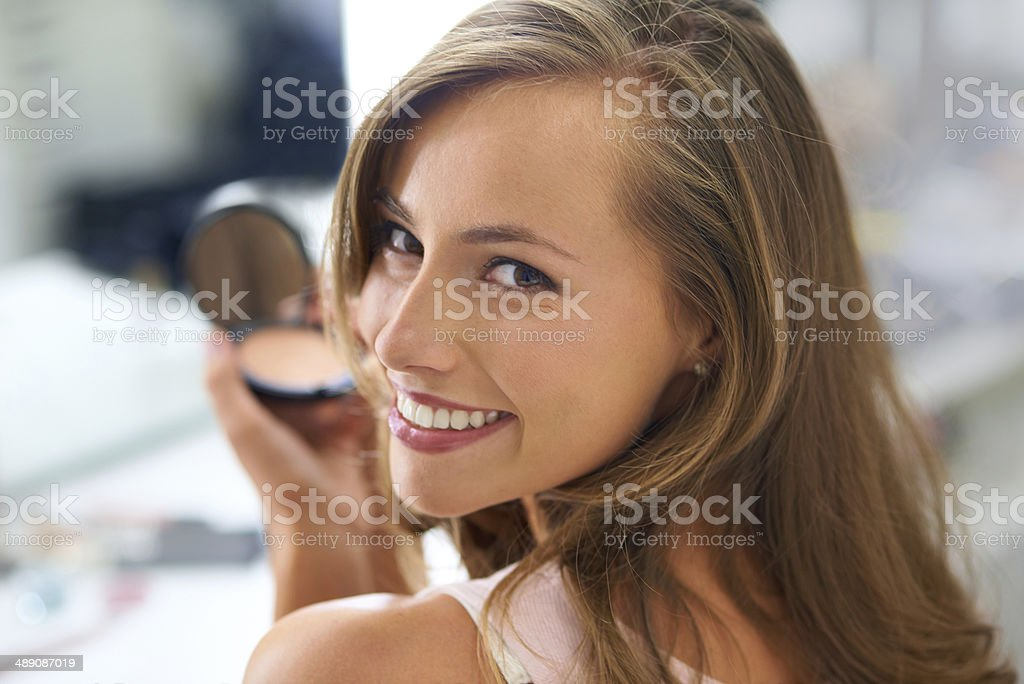 I need to look perfect stock photo