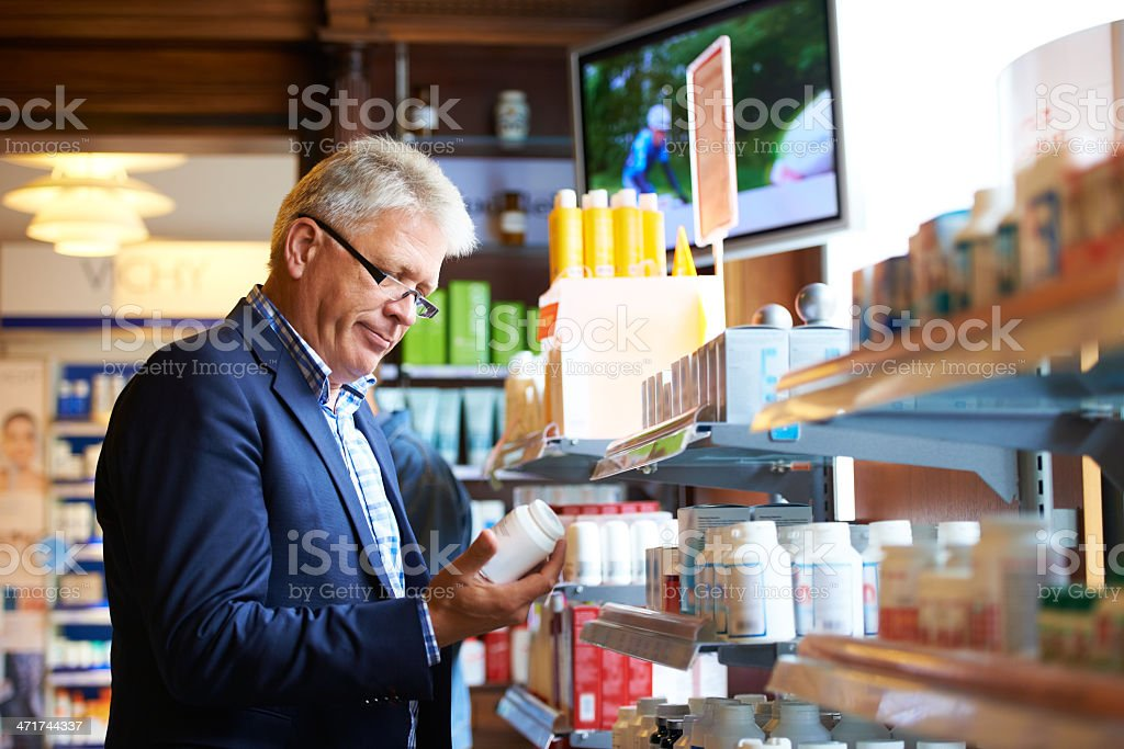 I need to stock up on this medication royalty-free stock photo