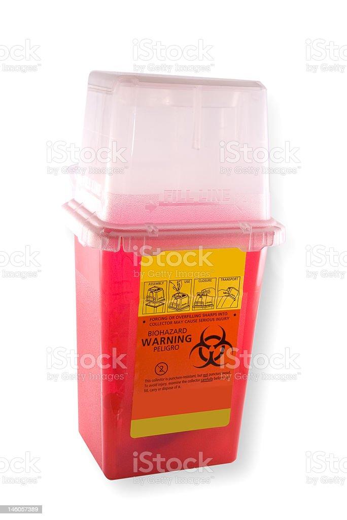 Needle Disposal royalty-free stock photo