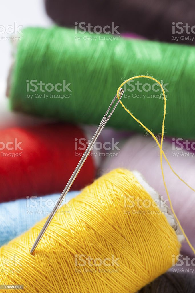 needle royalty-free stock photo