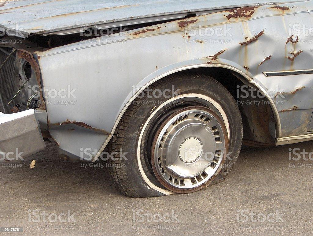 Needs a New Car royalty-free stock photo